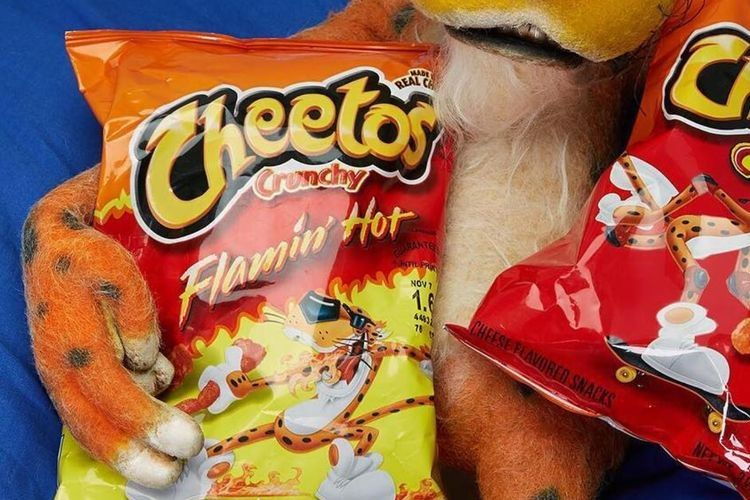 can you eat flamin hot cheetos while pregnant