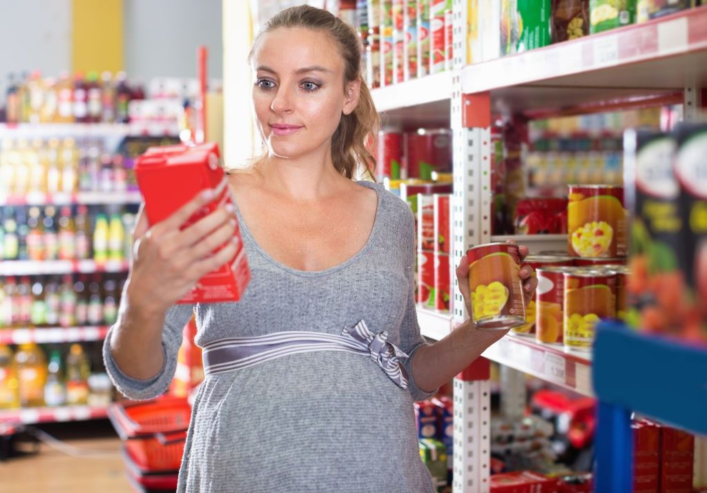 i ate canned food while pregnant