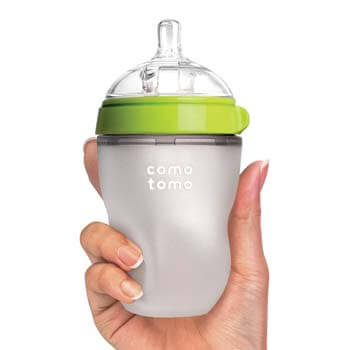 1. Natural Feel Baby Bottle from Comotomo
