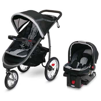 4. Graco FastAction Fold Jogger Travel System