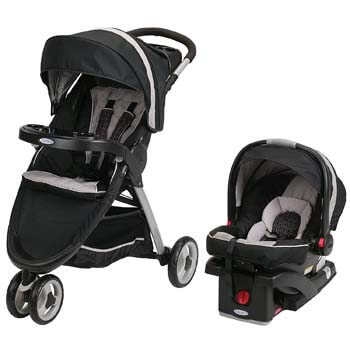 6. Graco FastAction Fold Sport Travel System