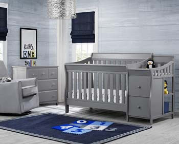 1. Delta Children Convertible Crib