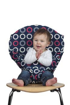 4. Washable and Squashable Travel Highchair from Totseat