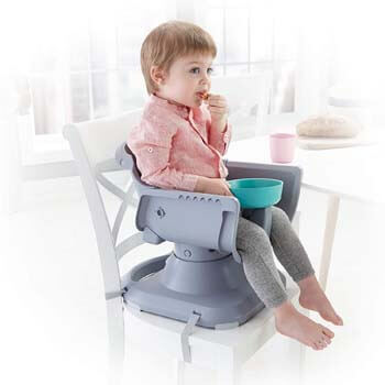 1. Healthy Care Deluxe Booster Seat from Fisher-Price