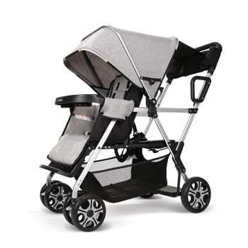 7. Cynebaby Double Stroller Convenience Urban Twin Carriage Stroller