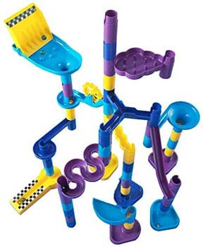 9. Discovery Toys MARBLEWORKS Marble Run Starter