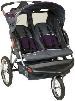 1. Baby Trend Expedition Double Jogger, Elixer