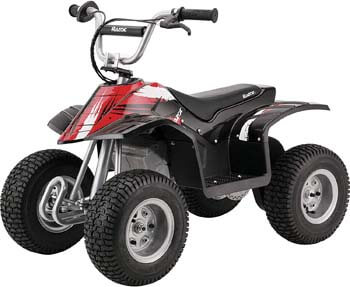 9. Razor Dirt Quad Electric Four-Wheeled Off-Road Vehicle