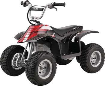 9. Razor Dirt Quad Electric Four-Wheeled Off-Road Vehicle