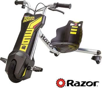 7. Razor Power Rider 360 Electric Tricycle