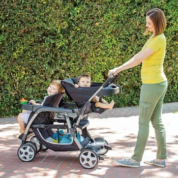 8. Graco Ready2Grow LX Double Stroller
