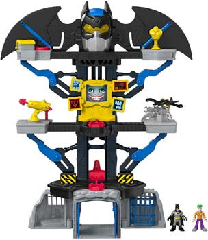 5. Fisher-Price Imaginext DC Super Friends Transforming Batcave