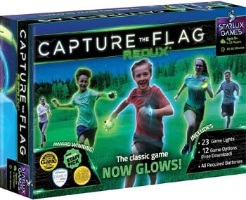 8. Capture the Flag REDUX. The Original Glow-in-The-Dark Outdoor Game