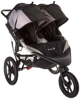 5. Baby Jogger Summit X3 Double Jogging Stroller