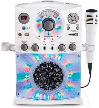 3. Singing Machine SML385UW Bluetooth Karaoke System