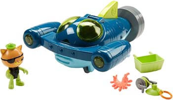 4. Fisher-Price Octonauts Gup-Q Undersea Explorer