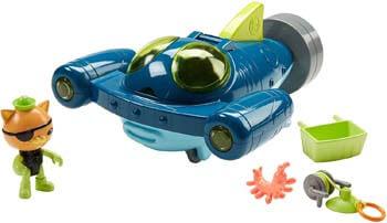 4. Fisher-Price Octonauts Gup-Q Undersea Explorer