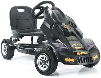 9. Hauck Batmobile Pedal Go Kart