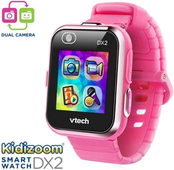 10. VTech KidiZoom Smartwatch DX2, Pink