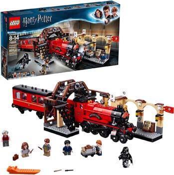 8. LEGO Harry Potter Hogwarts Express 75955 Toy Train Building Set