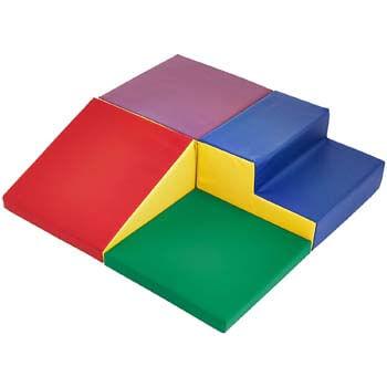 2. AmazonBasics Kids Soft Play Corner Climber, 4-Piece