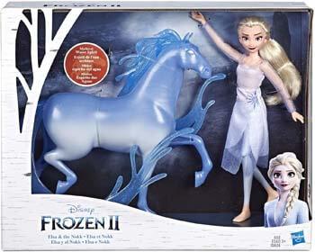 9. Disney Frozen Elsa Fashion Doll & Nokk Figure Inspired by Frozen 2