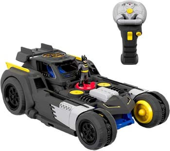 10. Fisher-Price Imaginext DC Super Friends Transforming Batmobile R/c