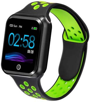6. WAFA Fitness Tracker with Heart Rate Blood Pressure Monitor