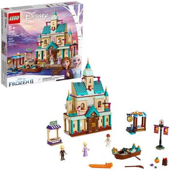 8. LEGO Disney Frozen II Arendelle Castle Village 41167 Toy Castle Building Set