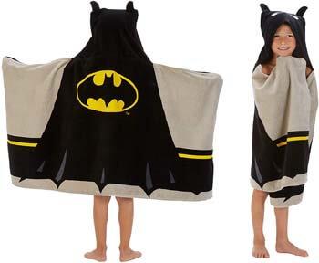 6. Franco Kids Bath and Beach Soft Cotton Terry Hooded Towel Wrap, 24