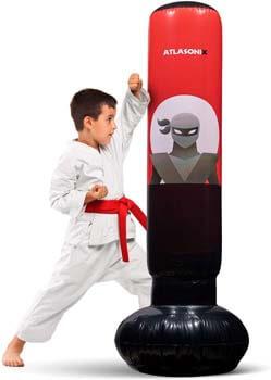 4. Inflatable Kids Punching Bag