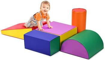 5. Costzon Crawl and Climb Foam Play Set
