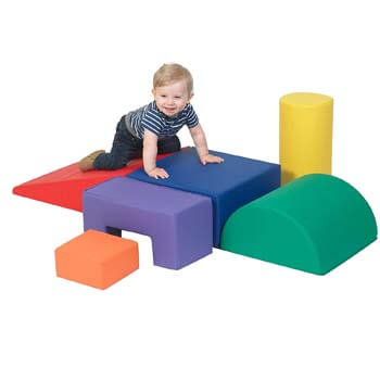 9. Children's Factory Climb & Play 6 Piece Set for Toddlers
