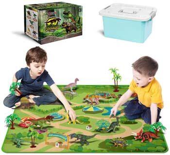8. Dinosaur Toys - 10 Realistic Dinosaur Figures