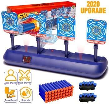 4. Snorain Gun Targets, Electronic Scoring Auto Reset Shooting Digital Target