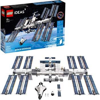 9. LEGO Ideas International Space Station 21321 Building Kit