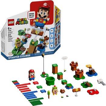 1. LEGO Super Mario Adventures with Mario Starter Course 71360 Building Kit