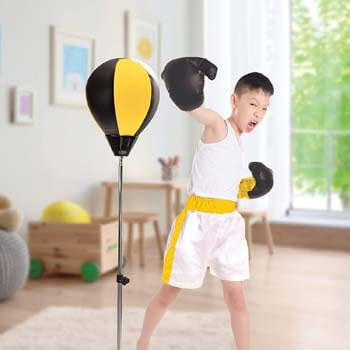 8. Protocol punching bag with stand
