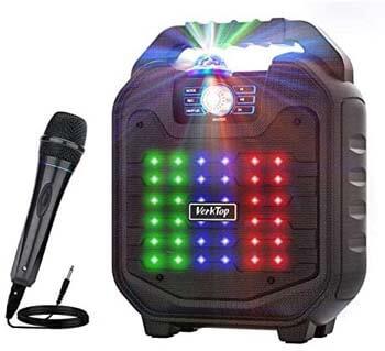 5. VerkTop Karaoke Machine