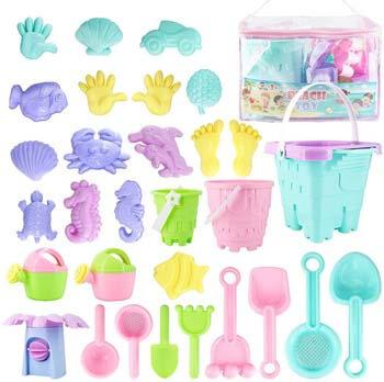 6. Toys Beach Kids Sand Toy Set