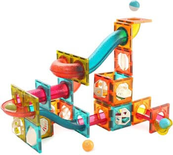 7. CUTE STONE Magnetic Tiles Magnetic Blocks Building Toys