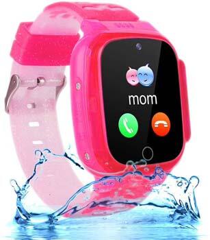 9. OVV Kids Waterproof Smartwatch Phone Girls Boys