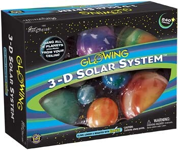 1. Great Explorations 3-D Solar System Glow In The Dark Ceiling Hanging Kit