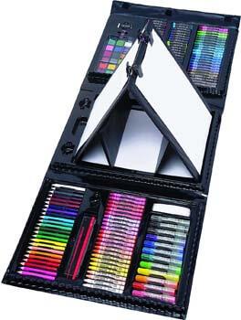 5. Art 101 Budding Artist 179 Piece Draw Paint and Create Art Set