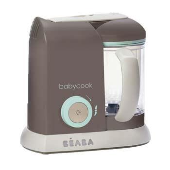 2. BEABA Babycook 4 in 1 Steam Cooker and Blender