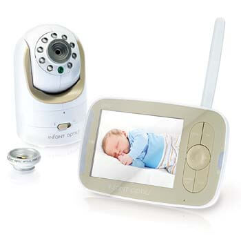 1. Infant Optics DXR-8 Video Baby Monitor with Interchangeable Optical Lens