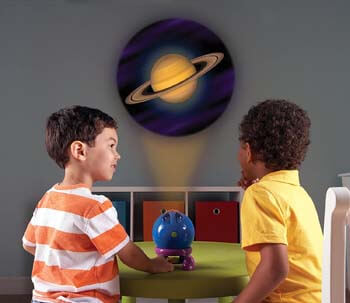 7. Learning Resources Shining Stars Projector, Solar System Space Toy Set, 5 Piece Set, Ages 3+