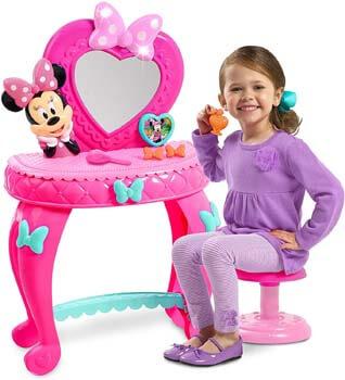 8. Minnie's Happy Helpers Bowdazzling Vanity