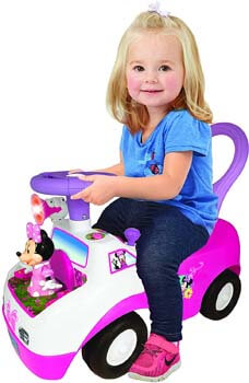 7. Kiddieland Toys Limited Minnie Dancing Ride On