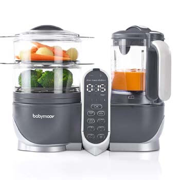 5. Duo Meal Station Food Maker 6 in 1 Food Processor with Steam Cooker